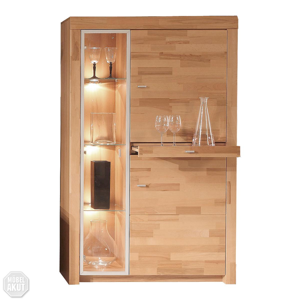 stauraumelement moments sopo highboard vitrine kern buche. Black Bedroom Furniture Sets. Home Design Ideas
