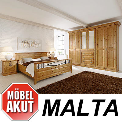 schlafzimmer set malta lmie h lsta tochter massiv ebay. Black Bedroom Furniture Sets. Home Design Ideas