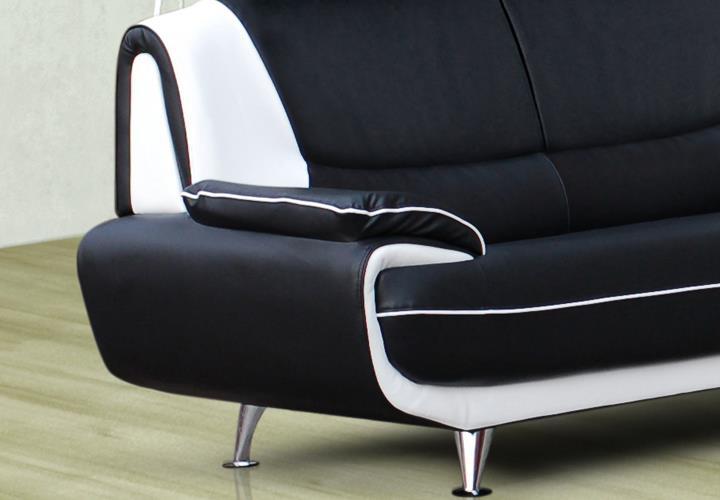 sofa couch ecksofa palermo wohnzimmer designer eckcouch schwarz, Hause deko