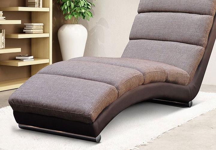 relaxliege holiday sofa liege chaiselongue bequeme polster geschwungene form ebay. Black Bedroom Furniture Sets. Home Design Ideas