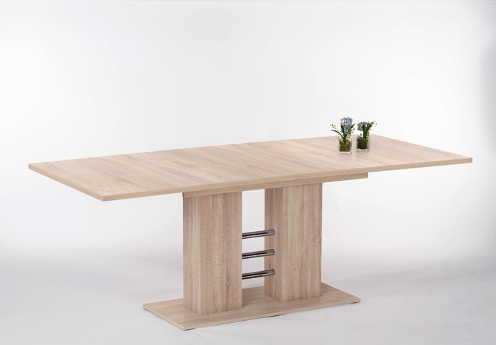 1 Von 5 Esstisch ILONA Tisch Esszimmertisch In Eiche Sägerau Ausziehbar  140 220 Cm