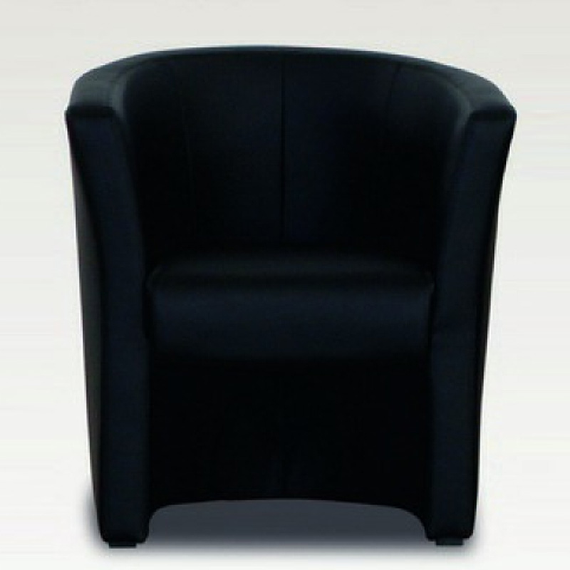 sessel mini cocktailsessel einzelsessel in schwarz 75 83. Black Bedroom Furniture Sets. Home Design Ideas