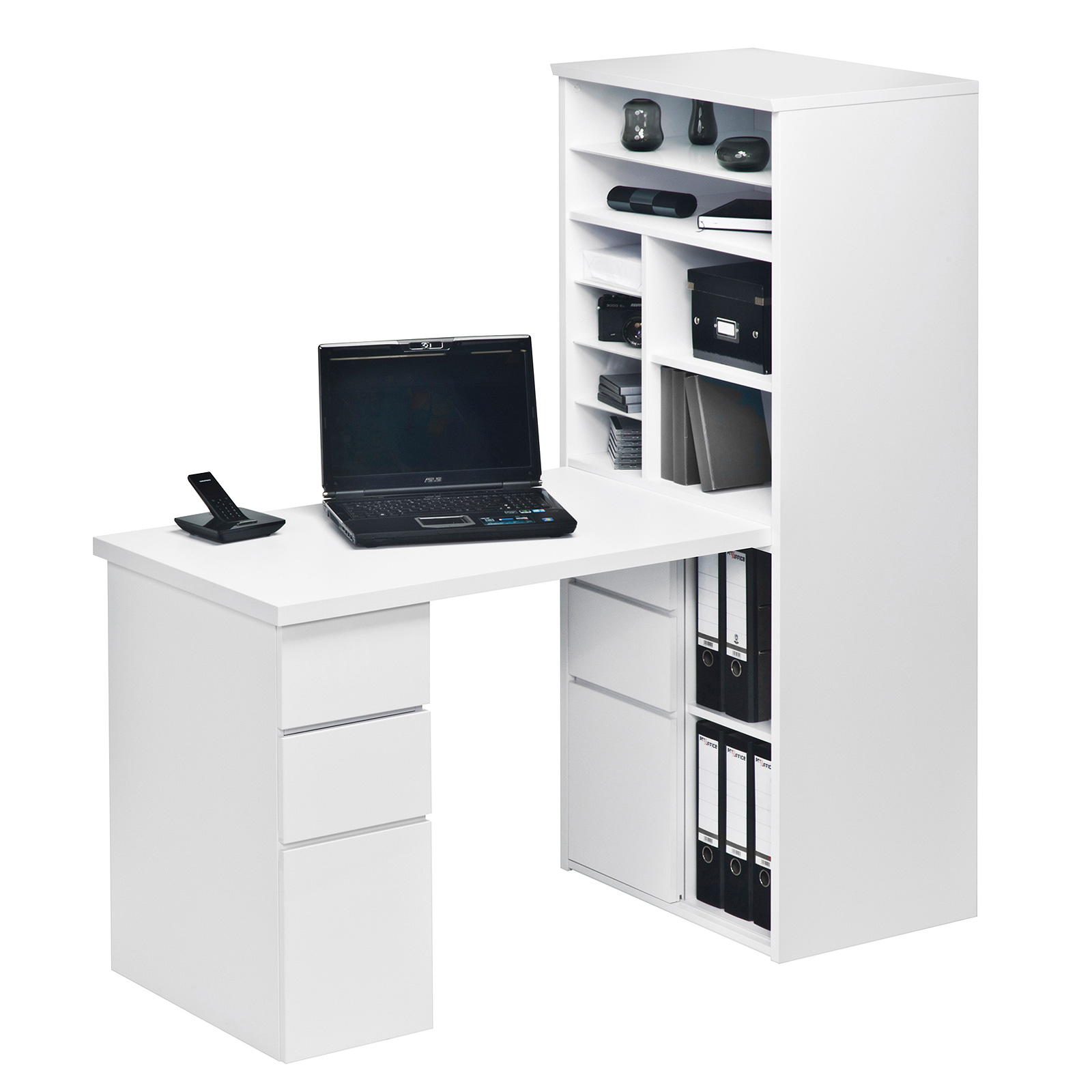mini office maja 9562 schreibtischkombi regal schreibtisch. Black Bedroom Furniture Sets. Home Design Ideas