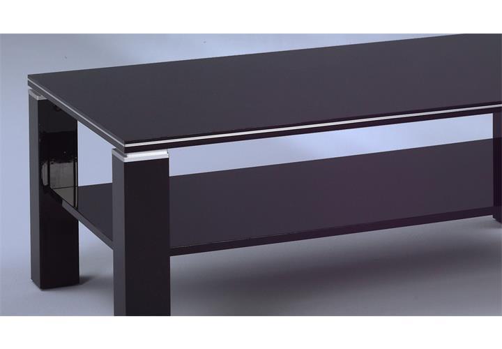 couchtisch juri beistelltisch wohnzimmertisch wei oder schwarz hochglanz ebay. Black Bedroom Furniture Sets. Home Design Ideas