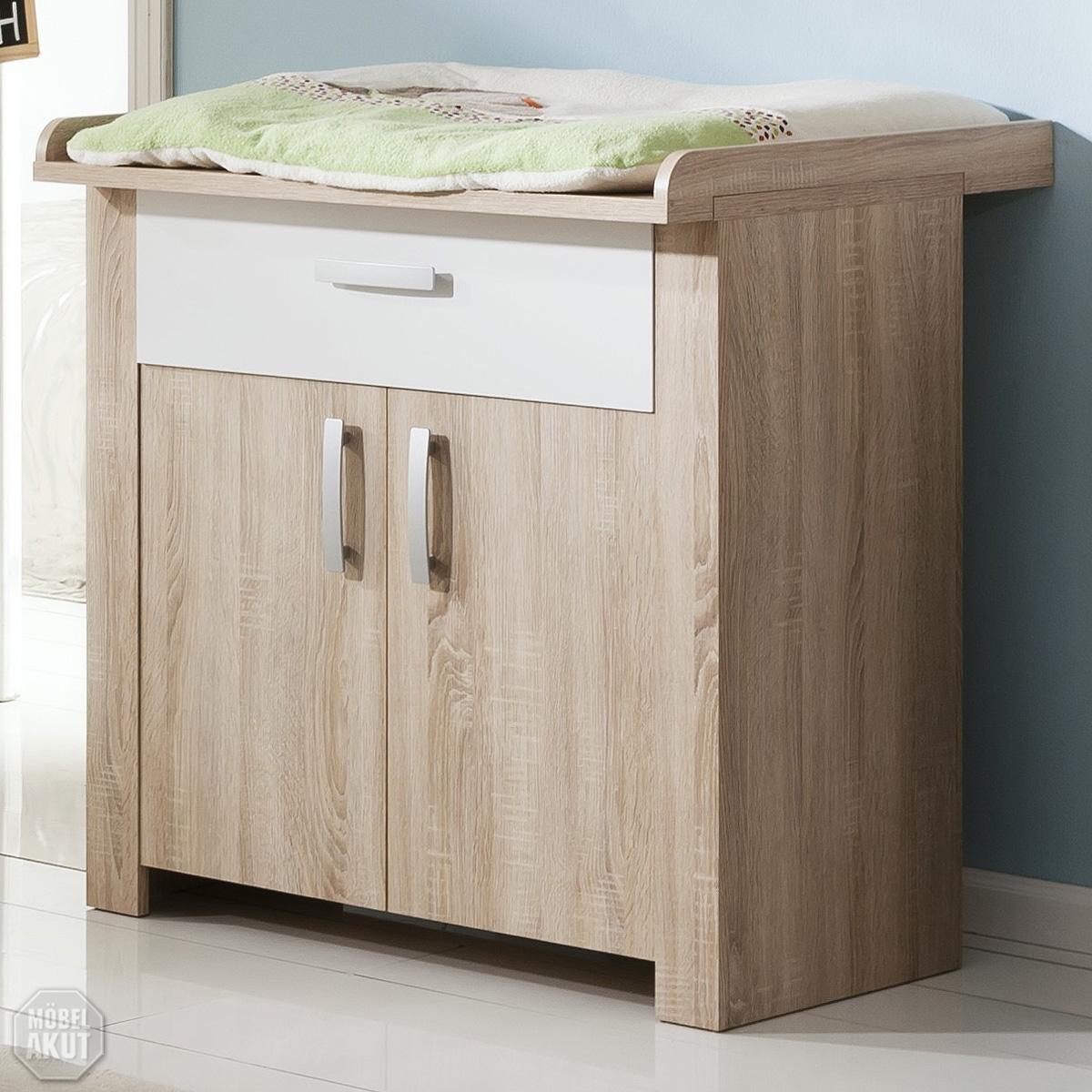 wickelkommode bolek wickeltisch baby sonoma eiche s gerau. Black Bedroom Furniture Sets. Home Design Ideas