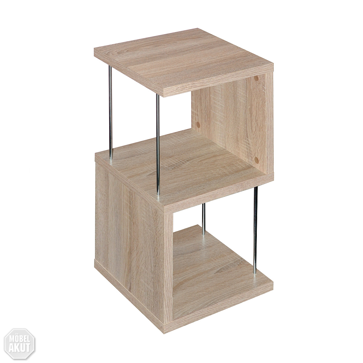 regal sticks standregal raumteiler sonoma eiche ebay. Black Bedroom Furniture Sets. Home Design Ideas