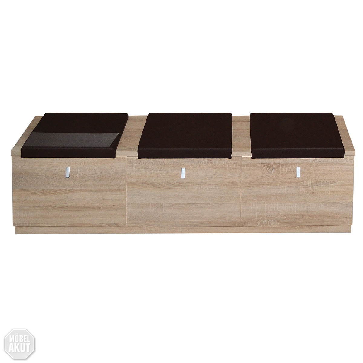 lowboard grace bank garderobe kommode sonoma eiche gro ebay. Black Bedroom Furniture Sets. Home Design Ideas