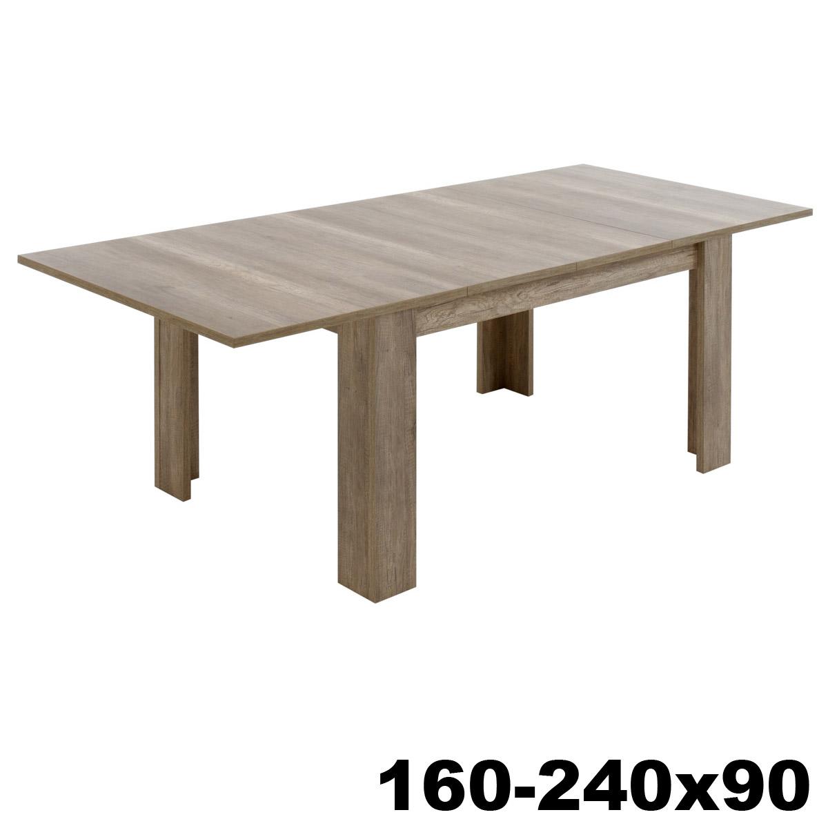 esstisch mambo tisch mit auswahl wildeiche san remo und. Black Bedroom Furniture Sets. Home Design Ideas