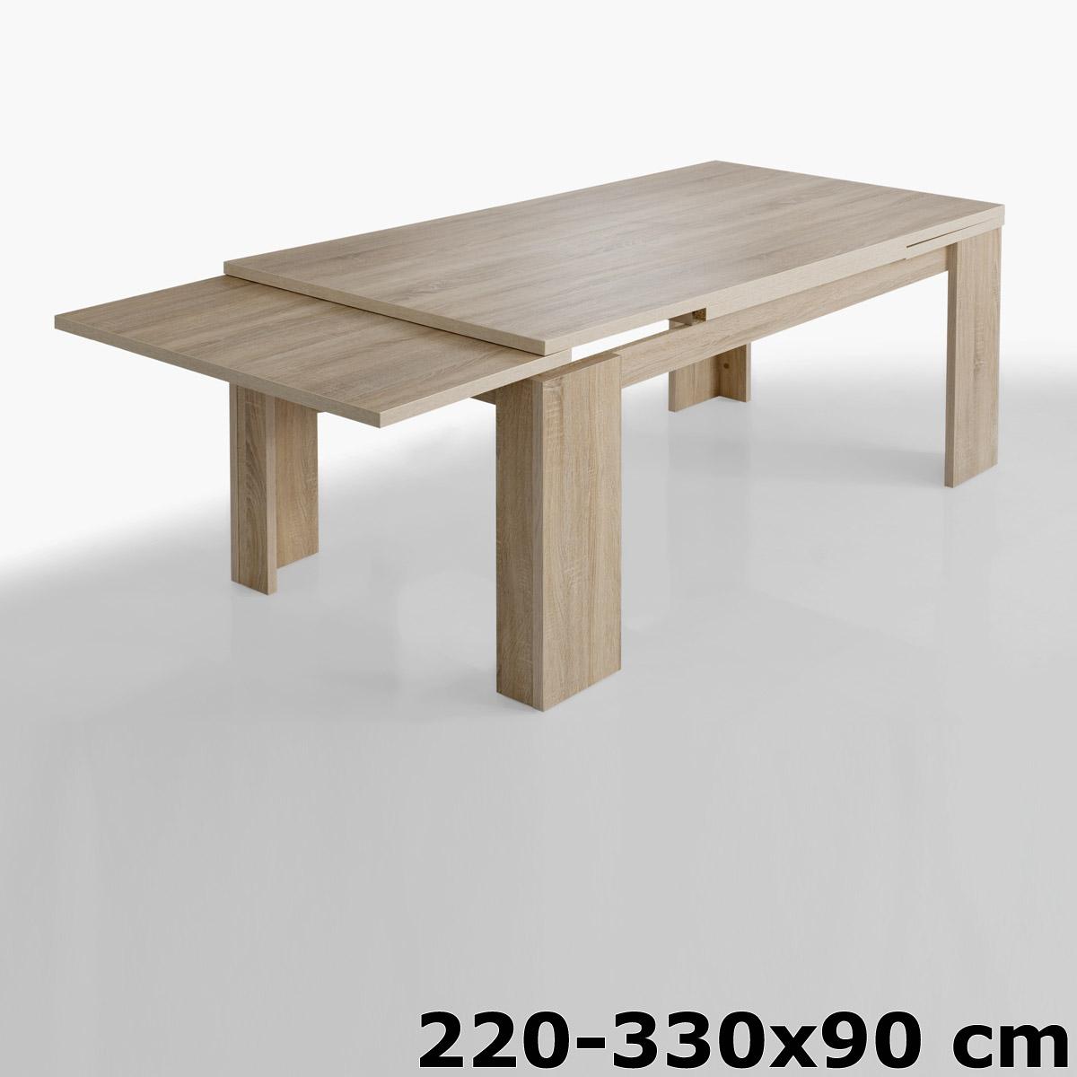 tisch big zip esstisch eiche s gerau dunkel beton edelbuche wildeiche tr ffel ebay. Black Bedroom Furniture Sets. Home Design Ideas