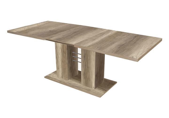 esstisch paulo rio tisch esszimmertisch eiche wildeiche. Black Bedroom Furniture Sets. Home Design Ideas
