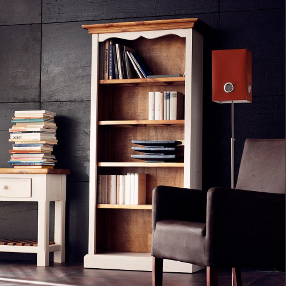 regal york b cherregal kiefer massiv wei honig ebay. Black Bedroom Furniture Sets. Home Design Ideas