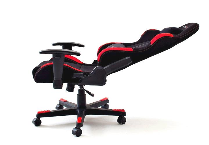 Schreibtischstuhl dx racer design b rostuhl game chair for Designer schreibtischstuhl