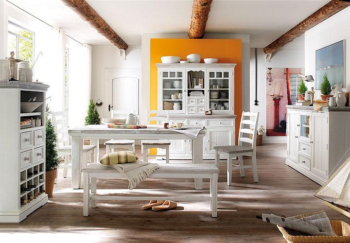 buffet opus vitrine highboard schrank in kiefer massiv. Black Bedroom Furniture Sets. Home Design Ideas