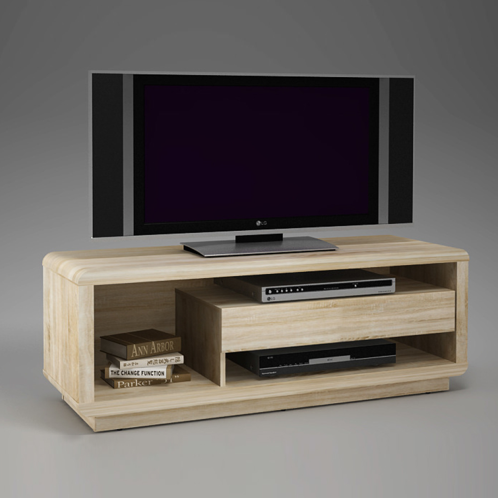tv board geko lowboard kommode in sonoma eiche s gerau. Black Bedroom Furniture Sets. Home Design Ideas
