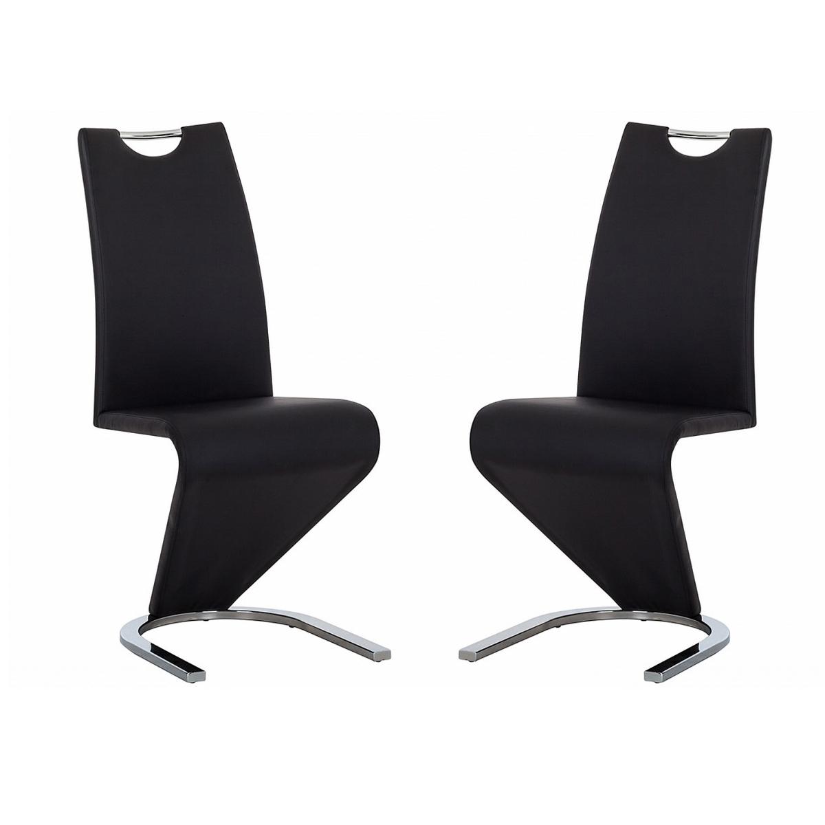 schwingstuhl amado 2er set freischwinger esszimmer stuhl. Black Bedroom Furniture Sets. Home Design Ideas