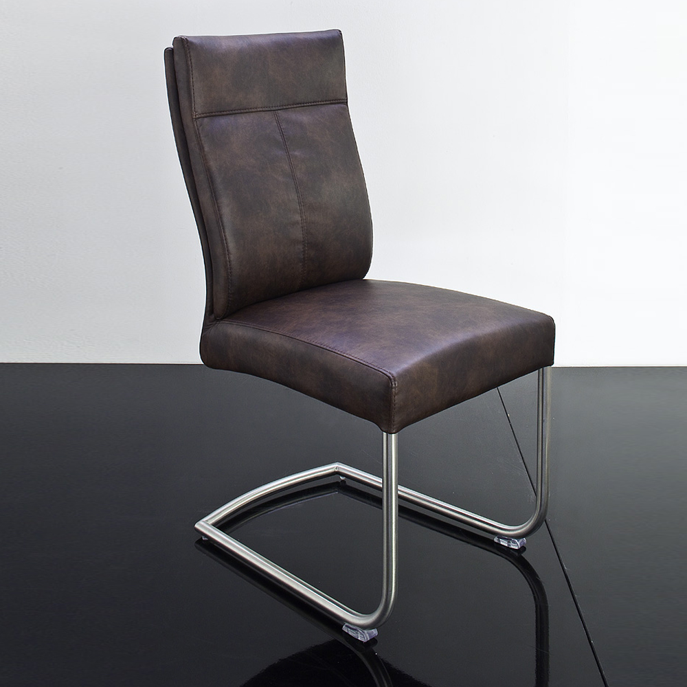6er set stuhl charles iv freischwinger st hle in dunkebraun vintage ebay. Black Bedroom Furniture Sets. Home Design Ideas