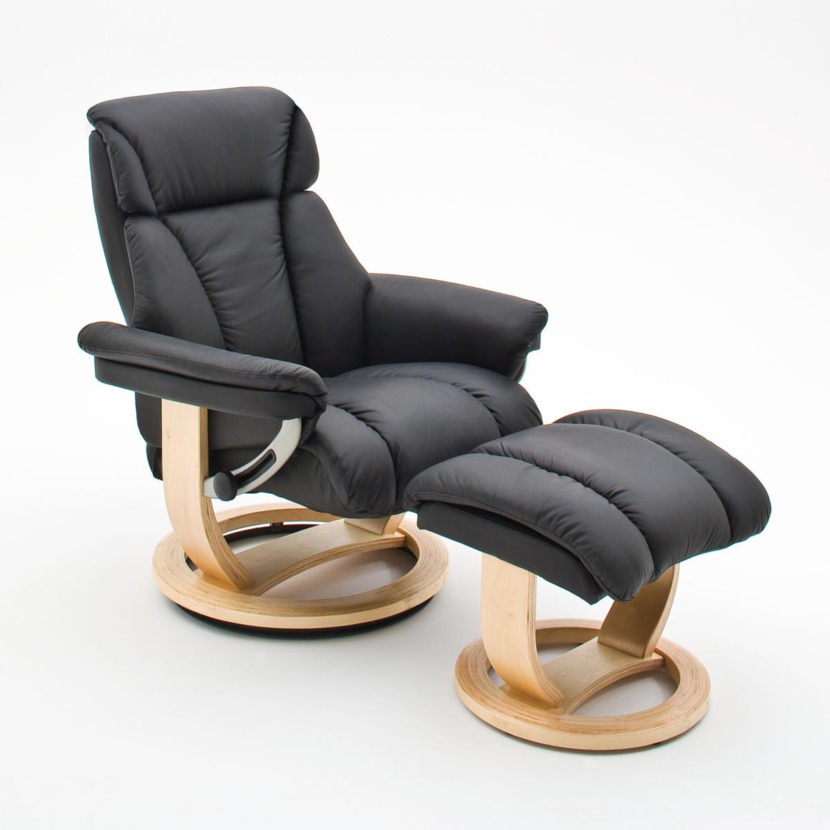 relaxsessel kingston sessel und hocker echtes leder in. Black Bedroom Furniture Sets. Home Design Ideas