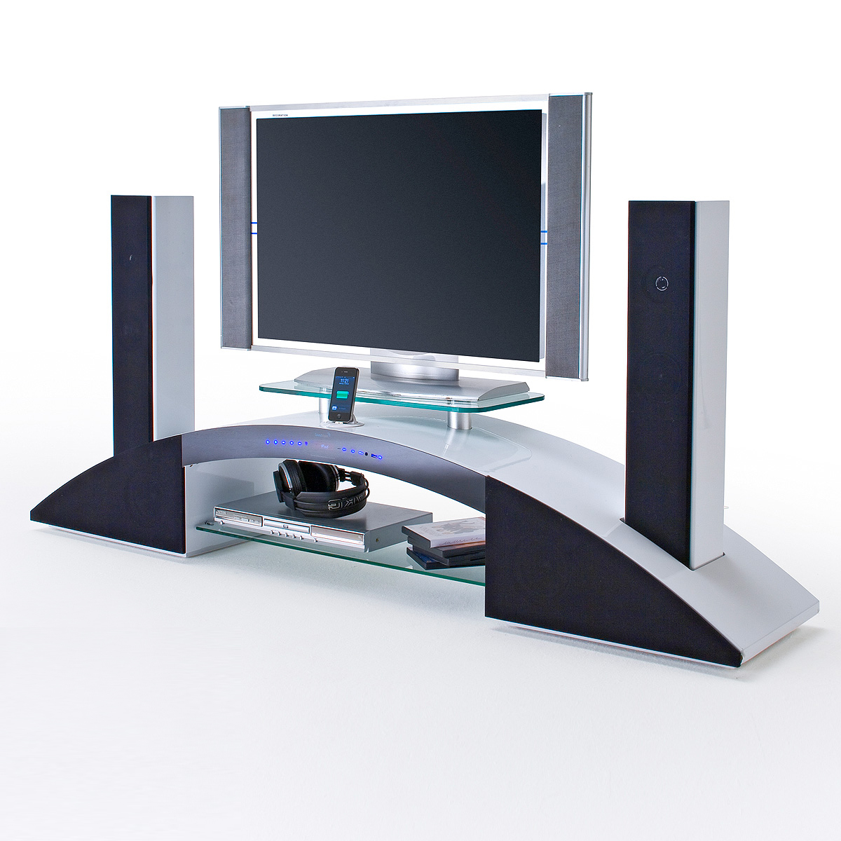 tv media board arc tv board soundboard mediaelement wei. Black Bedroom Furniture Sets. Home Design Ideas