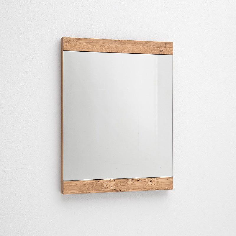 spiegel espero wandspiegel in ast eiche bianco massiv 64. Black Bedroom Furniture Sets. Home Design Ideas