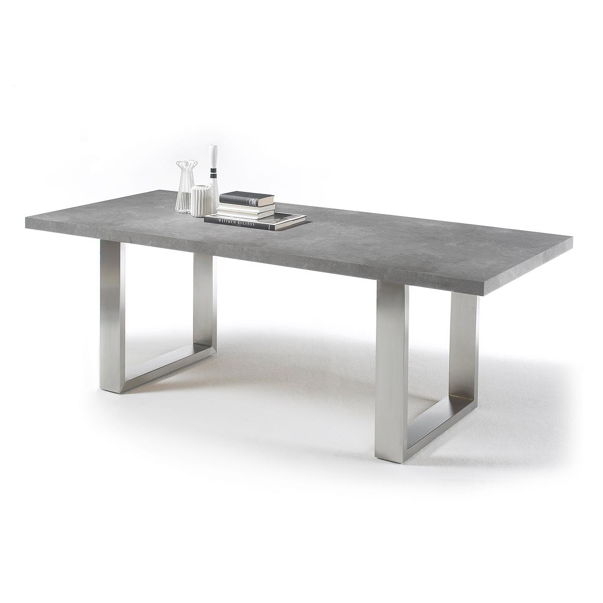 esstisch stone tisch esstisch esszimmertisch anthrazit. Black Bedroom Furniture Sets. Home Design Ideas