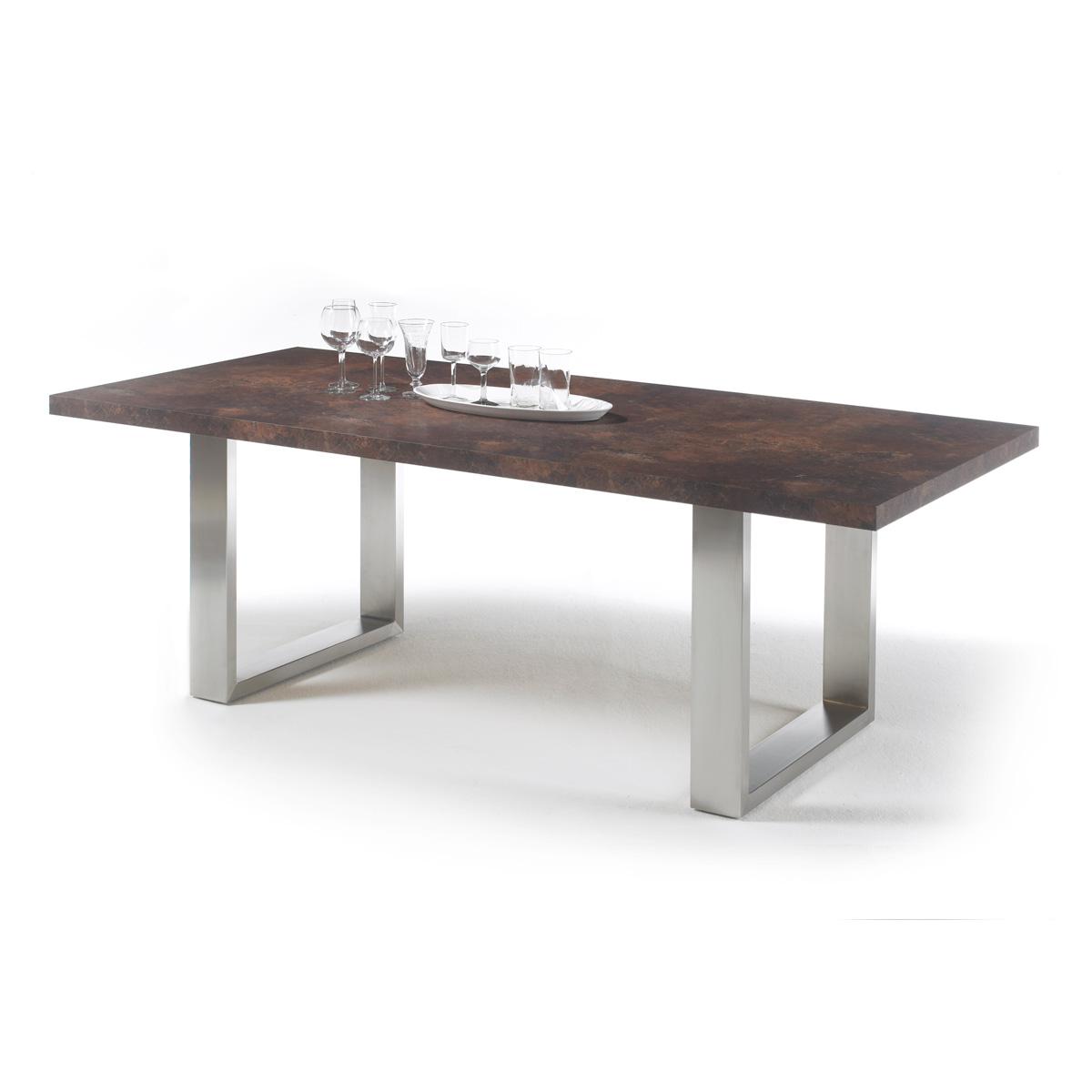Esstisch Stone Tisch Esstisch Esszimmertisch anthrazit  ~ Esstisch Granit