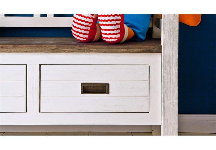 garderobenbank mit paneel bestseller shop f r m bel und. Black Bedroom Furniture Sets. Home Design Ideas