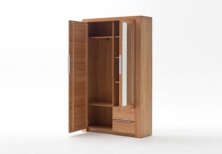 kleiderschrank giant schrank garderobenschrank kernbuche teilmassiv 120 cm ebay. Black Bedroom Furniture Sets. Home Design Ideas