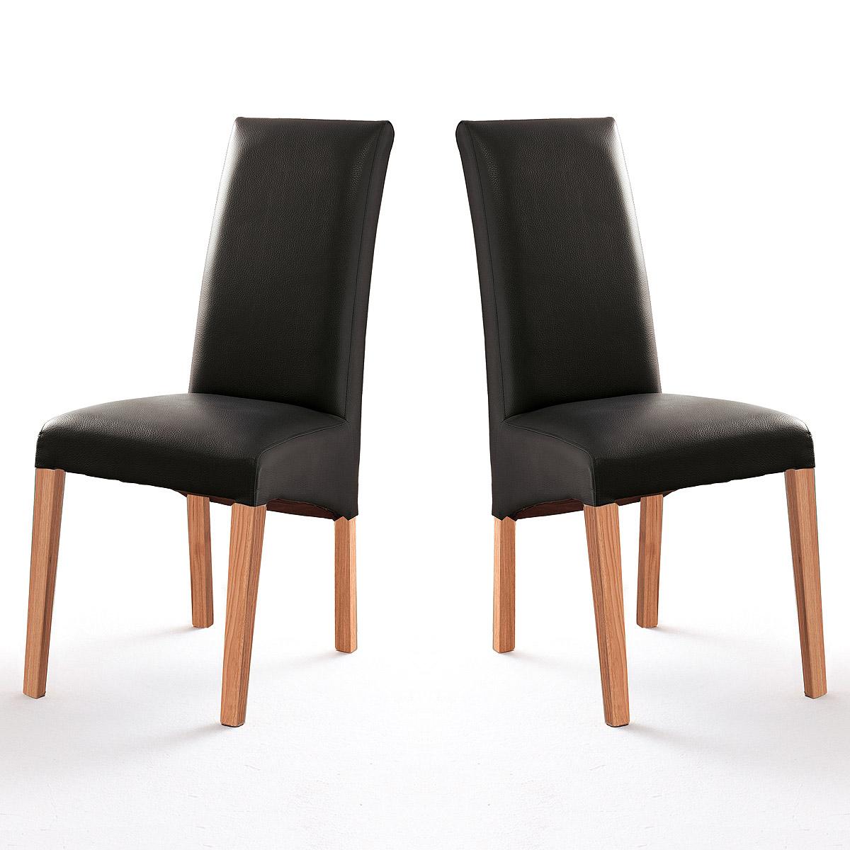 Esszimmer esszimmerstühle grau stoff : Stuhl Foxi 2er Set Polsterstuhl Esszimmer Küchenstuhl Holzgestell ...