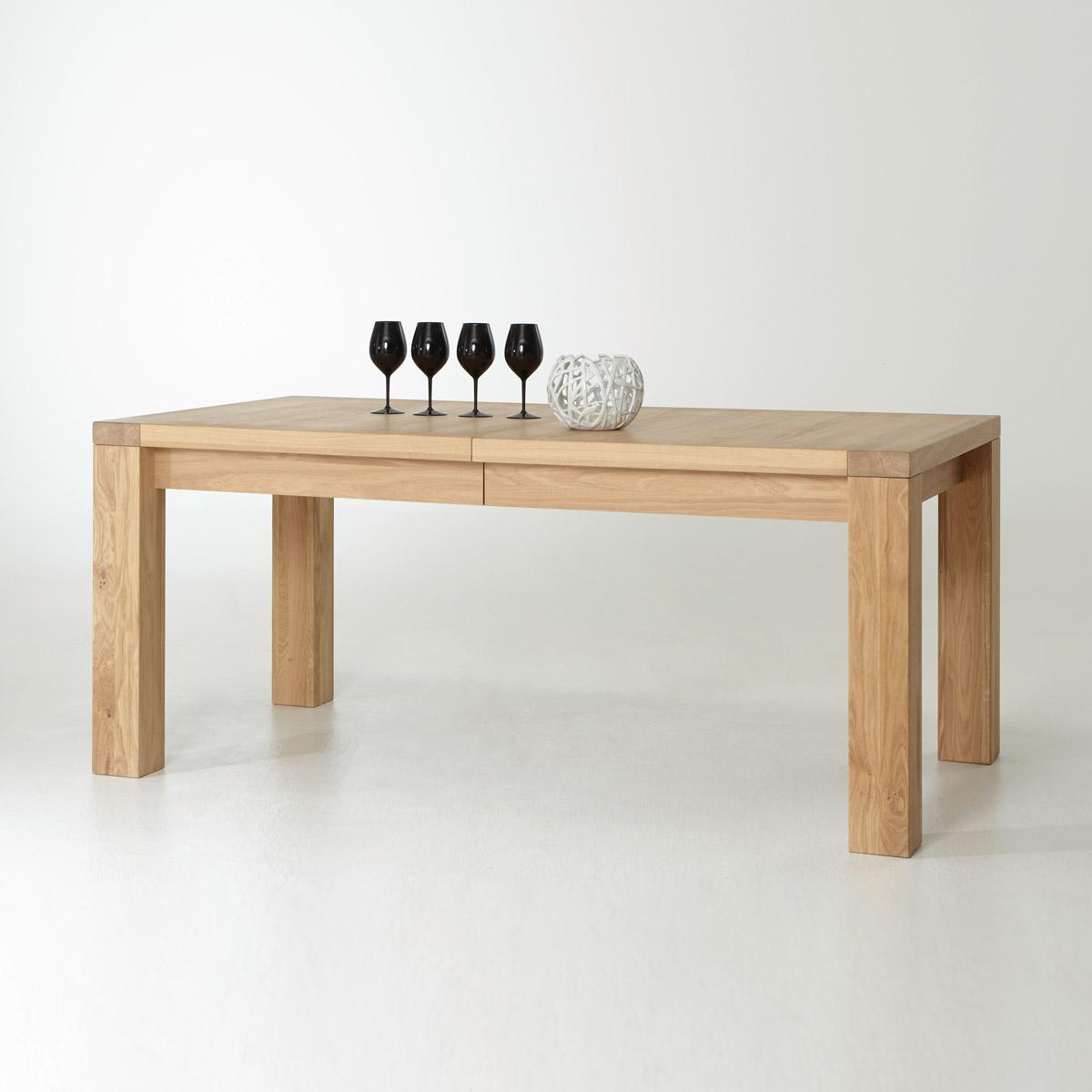 Esstisch Prato Tisch Esszimmertisch Eiche Bianco ...