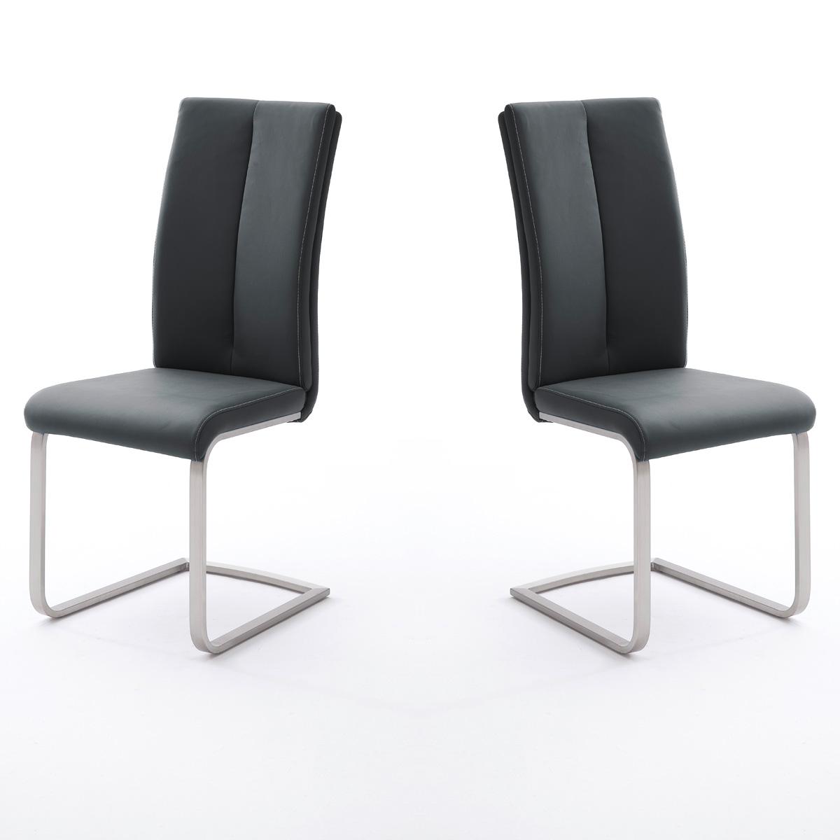 schwingstuhl 4er set paulo esszimmerstuhl stuhl cappuccino. Black Bedroom Furniture Sets. Home Design Ideas
