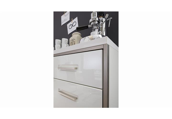 highboard trento sideboard kommode wohnzimmer wei. Black Bedroom Furniture Sets. Home Design Ideas