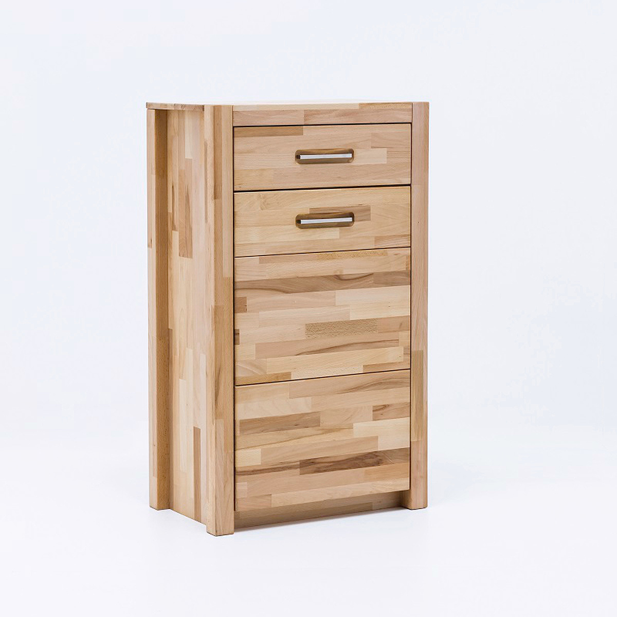 kommode fenja schuhschrank garderobe in kernbuche keilverzinkt massiv ge lt ebay. Black Bedroom Furniture Sets. Home Design Ideas