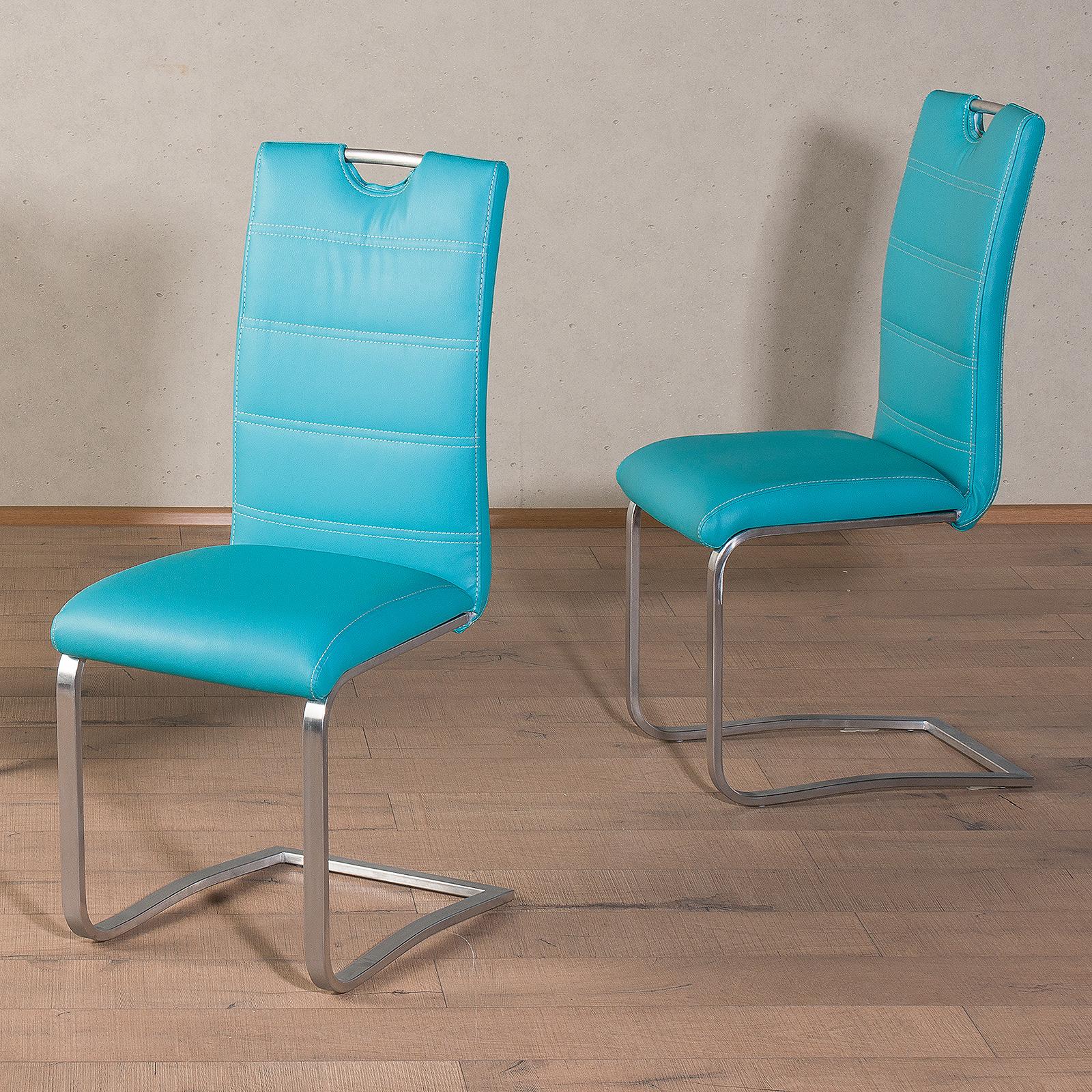 schwingstuhl nicole nicolas 4er set freischwinger. Black Bedroom Furniture Sets. Home Design Ideas