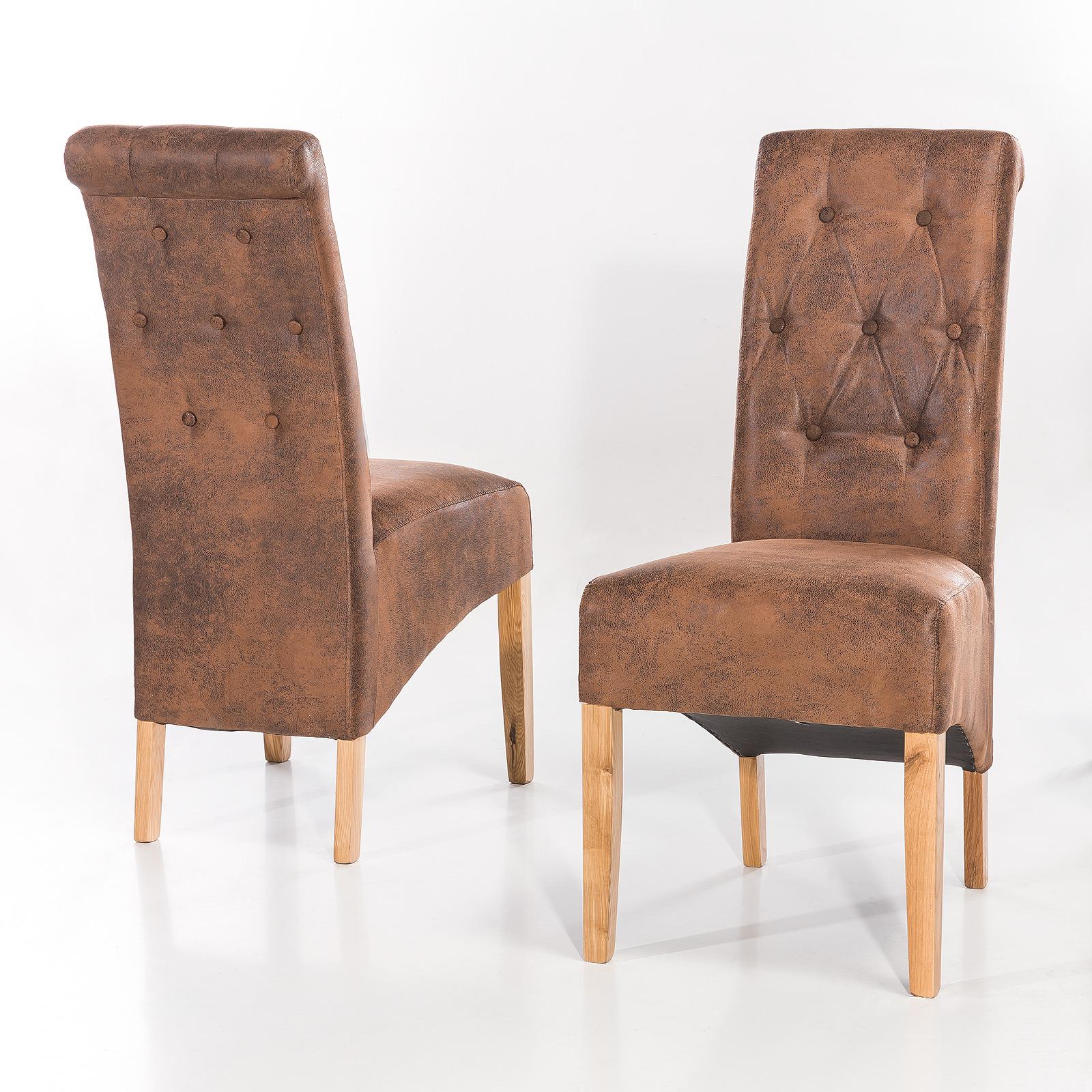 Bemerkenswert Polsterstuhl Eiche Sammlung Von Polsterstuhl-harry-2er-set-stuhl-esszimmerstuhl-wahl-kolonial-