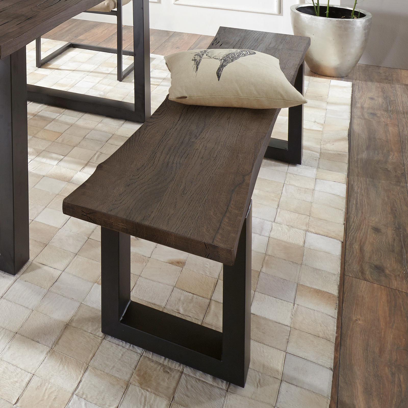 bank maryland sitzbank einzelbank holzbank in akazie. Black Bedroom Furniture Sets. Home Design Ideas