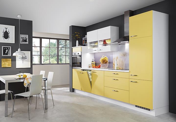 nobilia einbauk che k chenzeile k che inkl e ger te mit auswahlfarben 729 eur. Black Bedroom Furniture Sets. Home Design Ideas