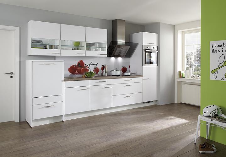 nobilia einbauk che k chenzeile k che inkl e ger te mit auswahlfarben 535 ebay. Black Bedroom Furniture Sets. Home Design Ideas