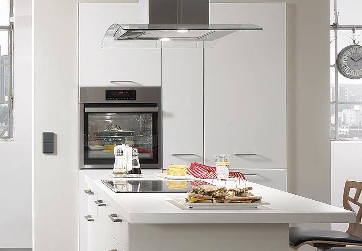 Nobilia Einbauküche Inselküche Küche inkl. E-Geräte mit ...