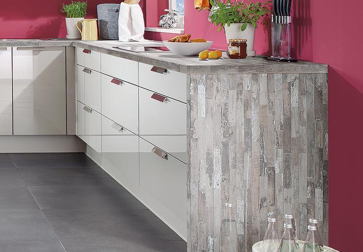 Nobilia Einbauküche L-Küche Küche inkl. E-Geräte mit Auswahlfarben ...