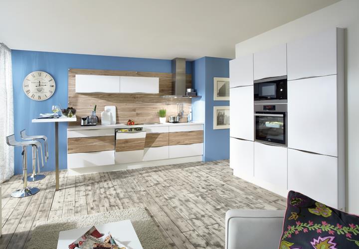 nobilia einbauk che k chenzeile k che inkl e ger te mit auswahlfarben 801 ebay. Black Bedroom Furniture Sets. Home Design Ideas