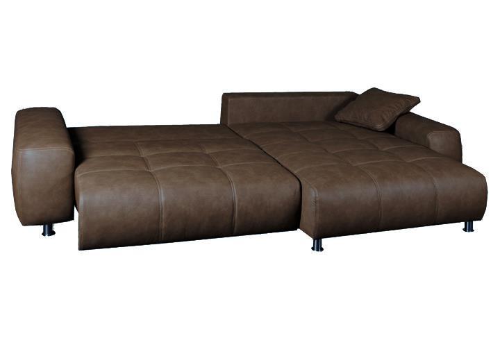 ecksofa briatore sahara braun schlafsofa mit bettkasten. Black Bedroom Furniture Sets. Home Design Ideas