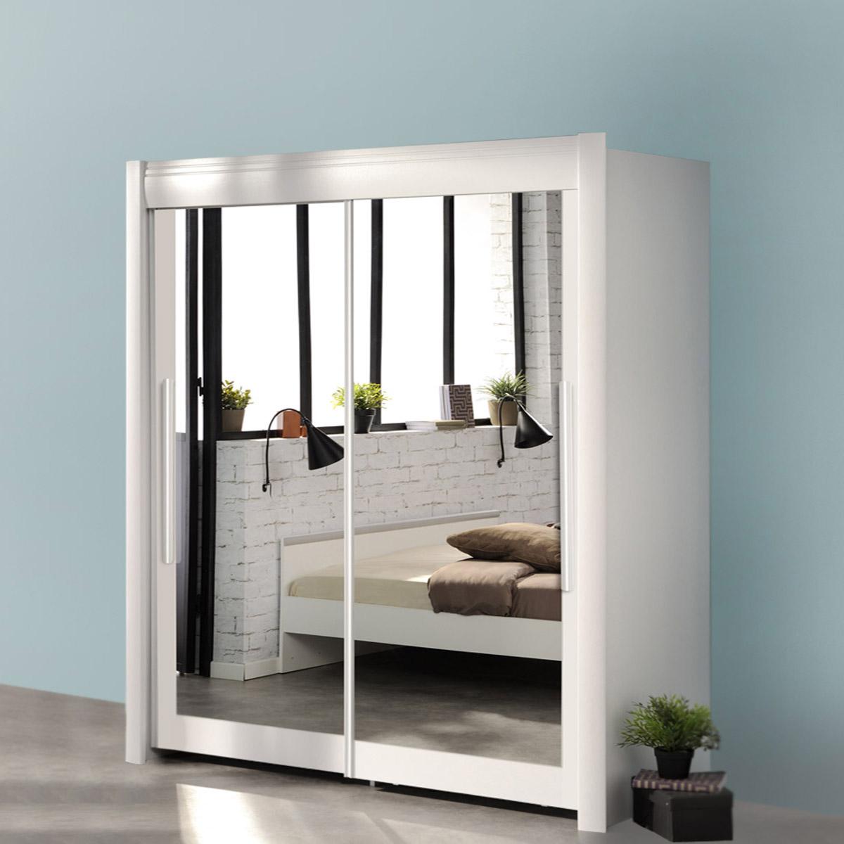 schwebet renschrank celebrity kleiderschrank schrank in wei braun oder eiche ebay. Black Bedroom Furniture Sets. Home Design Ideas