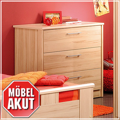 kommode kurt sideboard in kern buche hell neu ebay. Black Bedroom Furniture Sets. Home Design Ideas