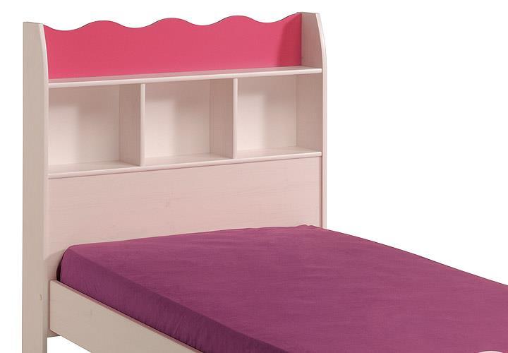 Kinderzimmer lilou kinderzimmerset schrank bett nako in for Kinderzimmer bett und schrank