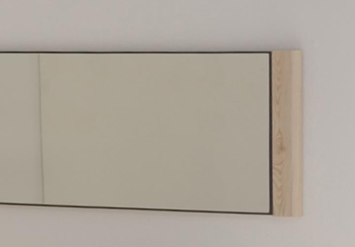 spiegel chris esszimmer wandspiegel mit rahmen eiche dekor. Black Bedroom Furniture Sets. Home Design Ideas