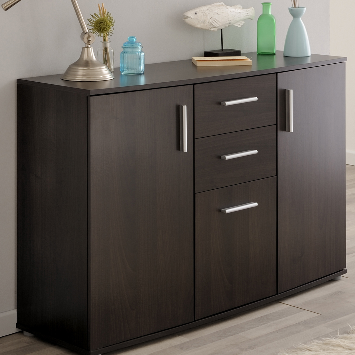 sideboard salto 3 esszimmer anrichte wohnzimmer kommode in. Black Bedroom Furniture Sets. Home Design Ideas