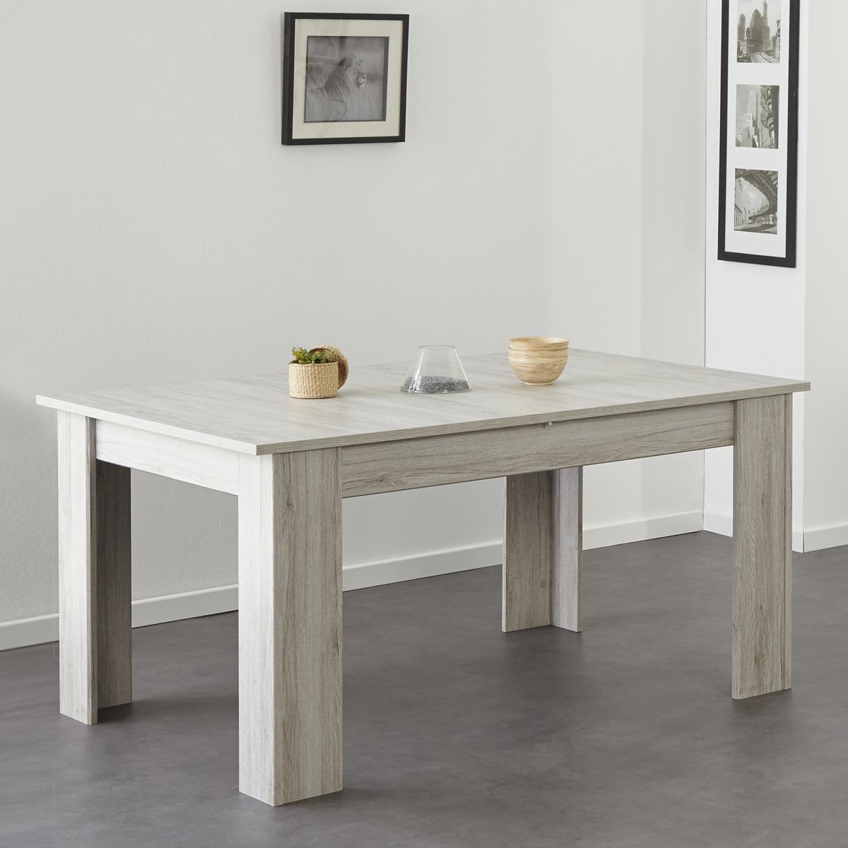 esstisch luneo tisch esszimmertisch ausziehbar in. Black Bedroom Furniture Sets. Home Design Ideas