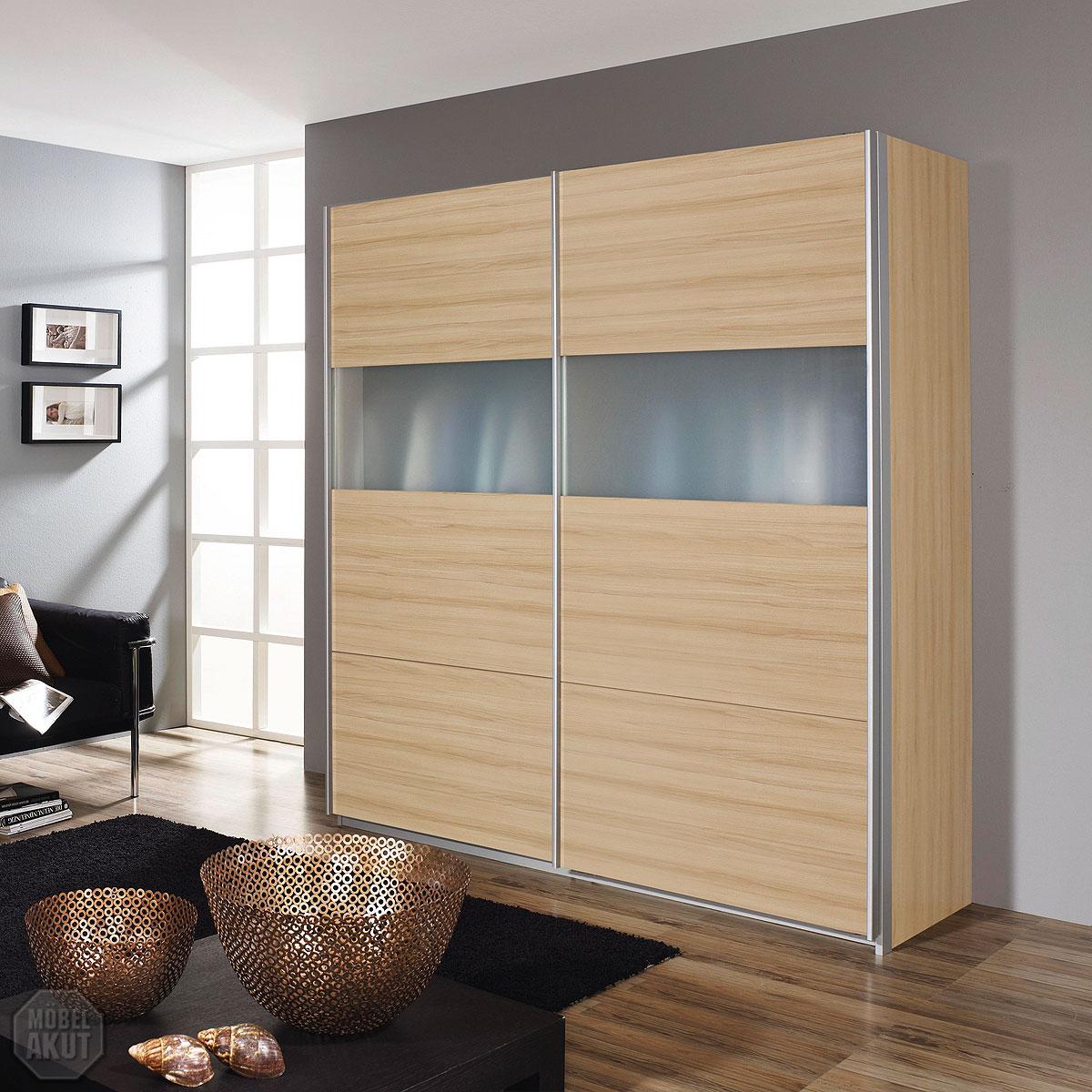 schwebet renschrank angolo schrank kleiderschrank buche milchglas 136 ebay. Black Bedroom Furniture Sets. Home Design Ideas