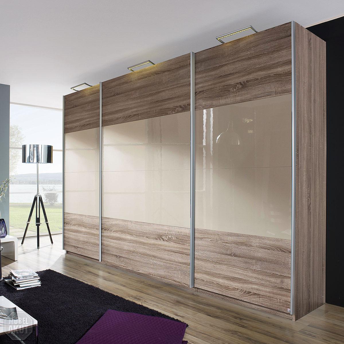 schwebet renschrank beluga base havanna eiche sandgrau. Black Bedroom Furniture Sets. Home Design Ideas