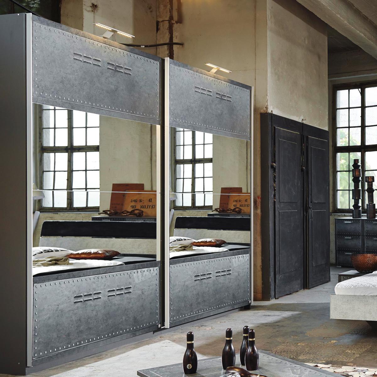 schwebet renschrank workbase industrie optik graphit mit. Black Bedroom Furniture Sets. Home Design Ideas